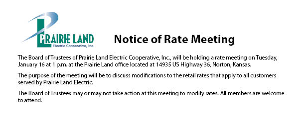 January Rate Meeting